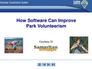 How Software Can Improve Park Volunteerism