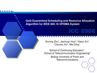 QoS-Guaranteed Scheduling and Resource Allocation Algorithm for IEEE 802.16 OFDMA System