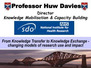 Professor Huw Davies