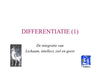 DIFFERENTIATIE (1)