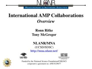 International AMP Collaborations Overview