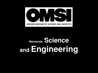 Nanoscale Science  and  Engineering