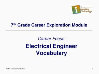 7 th  Grade Career Exploration Module
