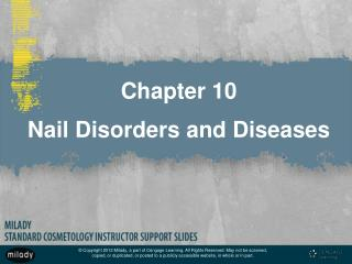 Chapter 10 Nail Disorders and Diseases