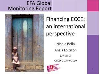 Financing ECCE: an international perspective