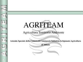 AGRITEAM Agricoltura Territorio Ambiente