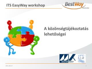 ITS  EasyWay w orkshop