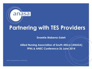 Partnering with TES Providers