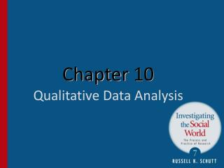 Chapter  10 Qualitative Data Analysis