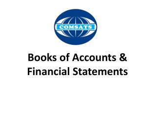 Books of Accounts & Financial Statements