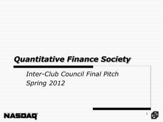 Quantitative Finance Society