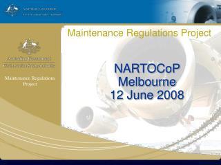 Maintenance Regulations Project