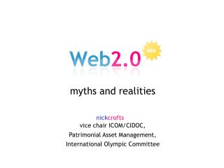 myths and realities nick crofts vice chair ICOM/CIDOC, Patrimonial Asset Management,