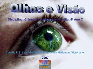 Olhos e Visão