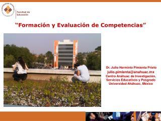 """"""" Formación y Evaluación de Competencias """""""