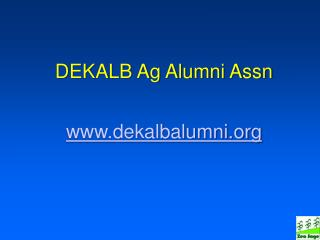 DEKALB Ag Alumni Assn dekalbalumni