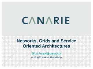 Networks, Grids and Service Oriented Architectures
