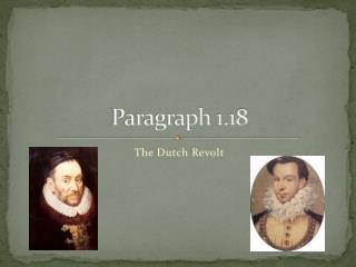 Paragraph  1.18