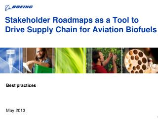 Stakeholder Roadmaps as a Tool to Drive Supply Chain for Aviation  Biofuels