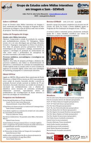 Revista GEMInIS  ISSN: 2179-1465      Qualis  B2