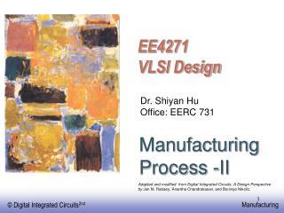 Manufacturing Process -II