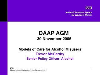 DAAP AGM   30 November 2005