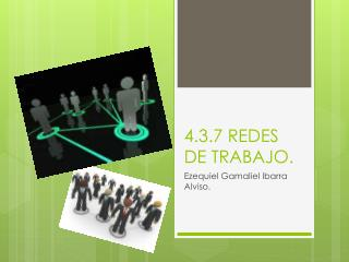 4.3.7 REDES  DE TRABAJO.