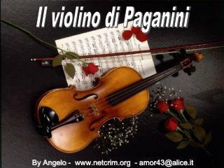 Il violino di Paganini