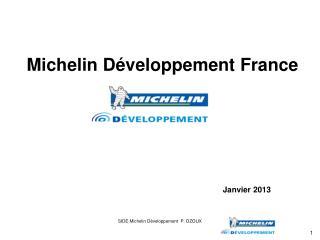 Michelin Développement France