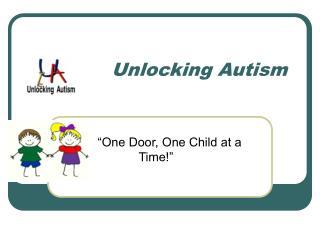Unlocking Autism