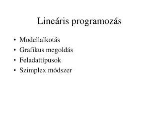 Line ris programoz s