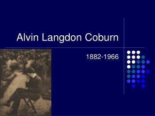 Alvin Langdon Coburn