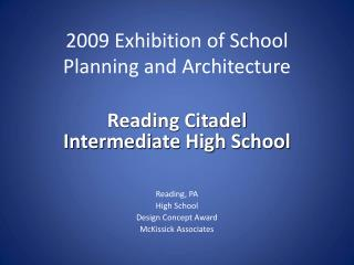 Reading Citadel  Intermediate High School