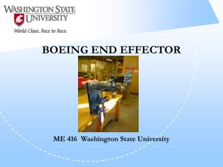 BOEING END EFFECTOR