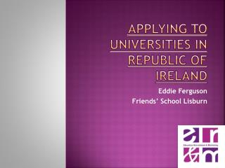Applying to Universities in Republic of Ireland
