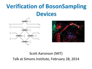 Verification of BosonSampling Devices