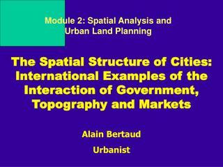 Alain Bertaud  Urbanist