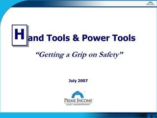 Hand Tools & Power Tools