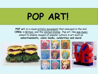 POP ART!