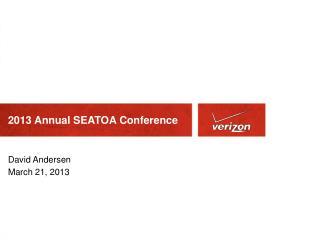 2013 Annual SEATOA Conference