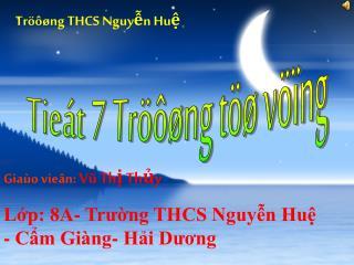 Tröôøng THCS Nguyễn Huệ
