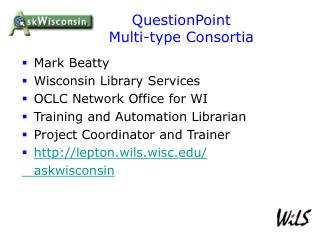 QuestionPoint  Multi-type Consortia