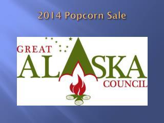 2014 Popcorn Sale