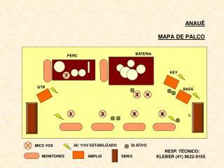 ANAUÊ MAPA DE PALCO