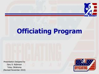 Officiating Program