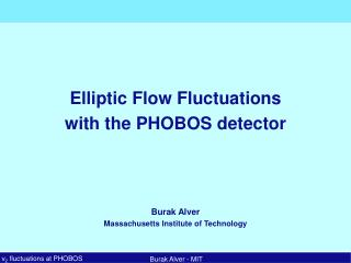 Elliptic Flow Fluctuations with the PHOBOS detector