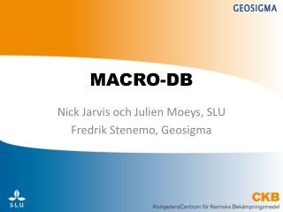 MACRO-DB