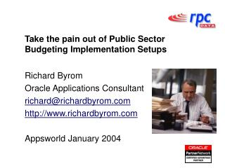 Take the pain out of Public Sector Budgeting Implementation Setups