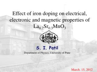 Effect of iron doping on electrical, electronic and magnetic properties of La 0.7 Sr 0.3 MnO 3