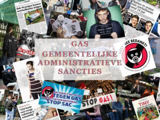 GAs GEMEENTELIJKE ADMINISTRATIEVE SANCTIES